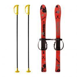 Baby Ski 90 cm - dětské plastové lyže - červené