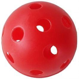 Florbalový míček SPARTAN Advance - červený