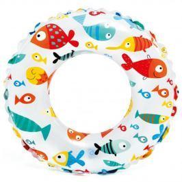 Nafukovací kruh s potiskem 61 cm - ryby
