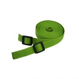 Tažný popruh na tahání saní a bobů - 4 metry - zelený