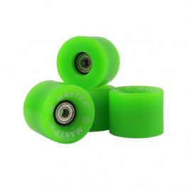 Kolečka pro plastik board MASTER - 60 x 45 mm - zelené