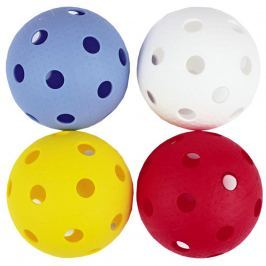 Florbalové míčky SPOKEY Domain - 4ks, barevné