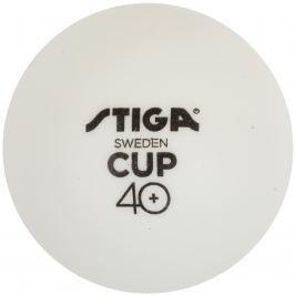 Míčky na stolní tenis STIGA CUP ABS - bílé