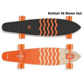 Street Surfing Kicktail Blown Out 36