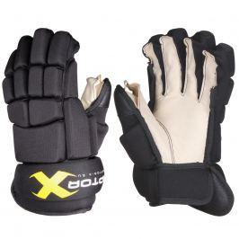 Hokejové rukavice Raptor-X senior, černé vel. 13