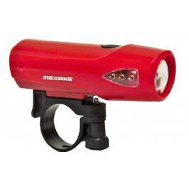 Světlo přední MAXBIKE JY-224  1Watt - červené