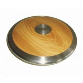 Atletický disk SEDCO závodní dřevo-chrom 1,5 kg
