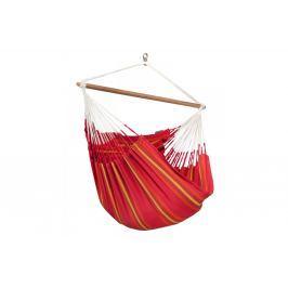 Houpací sedačka LA SIESTA Currambera Lounger červená