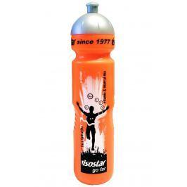 Cyklo láhev ISOSTAR 1 l se závitem - oranžová