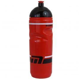 Cyklo láhev MAXBIKE 0,8 l se závitem - červená