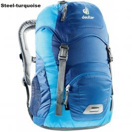 Dětský batoh DEUTER Junior 18 l - steel-turquoise