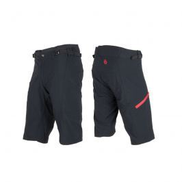 Kalhoty SENSOR Helium pánské černo-červené - vel. L
