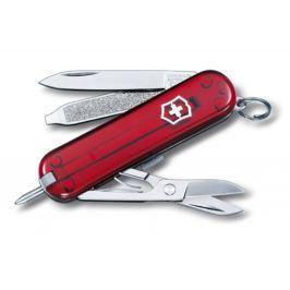 Kapesní nůž VICTORINOX Signature - červený transp.