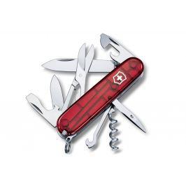 Kapesní nůž VICTORINOX Climber - červený transp.