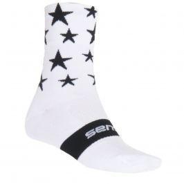 Ponožky SENSOR Stars bílo-černé vel. 3-5