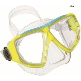 Maska TECHNISUB Oyster LX - žlutá