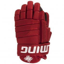 Hokejové rukavice SALMING Glove M11 - červené vel. 13''