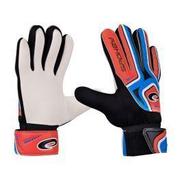 Brankářské rukavice SPOKEY Catch II 4 modro-červené