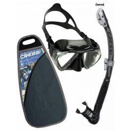 Potápěčský set CRESSI Penta+Alpha Ultra Dry - černá