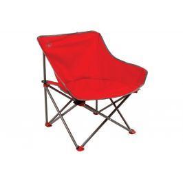 Kempingová židle COLEMAN Kickback Chair - červená - 2. jakost