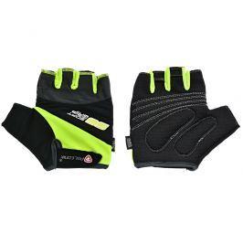 Cyklo rukavice POLEDNIK Pánské F4 reflexní žlutá, vel. S