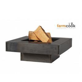 Ohniště FARMCOOK Plaza 80 cm - lakované