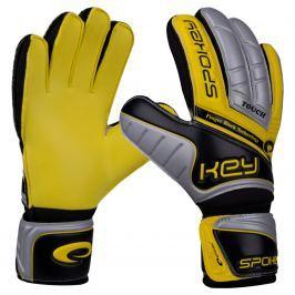 Brankářské rukavice SPOKEY Touch 11 žluté