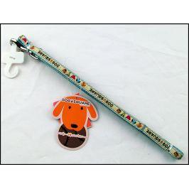 Dog square Vodítko nylonové DogSquareRibbon 10*120cm
