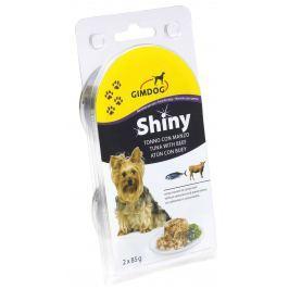 Gimdog Konzerva SHINY DOG  tun+hovězí 2X85g