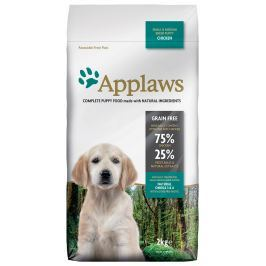 Krmivo Applaws Dry Dog Chicken Small & Medium Breed Puppy 2kg