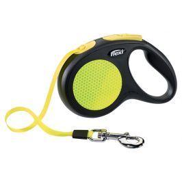 Vodítko Flexi Classic New Neon páska M-L 5m