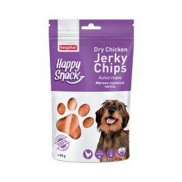 Beaphar Pochoutka Happy Snack Dog kuřecí chipsy 60g