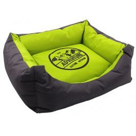 Pelech Dog Fantasy 50x40x21cm Adventure zeleno-šedivý