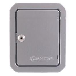 HS FLAMINGO Revizní dvířka 140x210, stříbrná