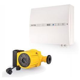 JABLOTRON ALARMS Regulace topení (Oběhové čerpadlo 12V, záložní zdroj, řídící jednotka, teplotní senzory, spalinový termostat, siréna)