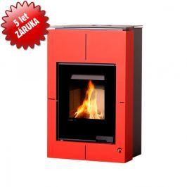 HS FLAMINGO Krbová kamna AQUAFLAM VARIO - SAPORO 11/7 kW červená