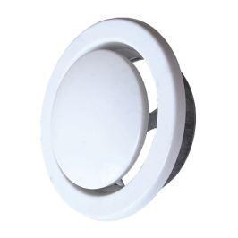 Ventilační talíř sací AW 125 mm bílá