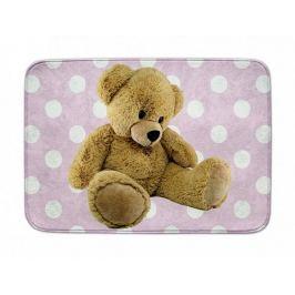 Dětský koberec Ultra Soft Medvídek růžový