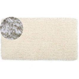 Bílý koberec Stela, 60x110 cm