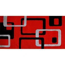 Kusový koberec Rumba 0998A, červený
