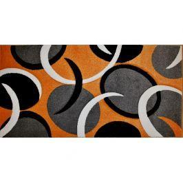 Kusový koberec Rumba 0999A, oranžový