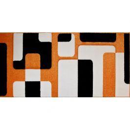 Kusový koberec Rumba 5240A, oranžový