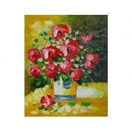 Obraz - Kytice rudých květů