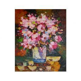 Obraz - Kytice růžových květů