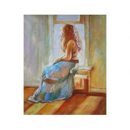 Obraz - Dívka v modrém