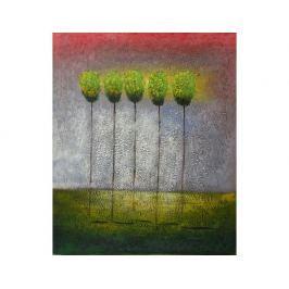 Obraz - Pět stromů