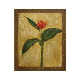 Obraz - Kytice s červeným květem