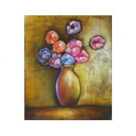 Obraz - Váza s barevnými květy