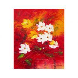 Obraz - Bíložluté květy