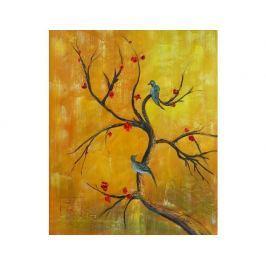 Obraz - Větev s ptáky